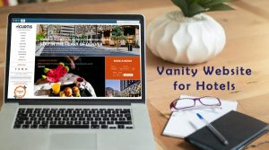 Vanity Website for Hotels
